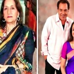 Parkash Kaur, Hema Malini and Dharmendra