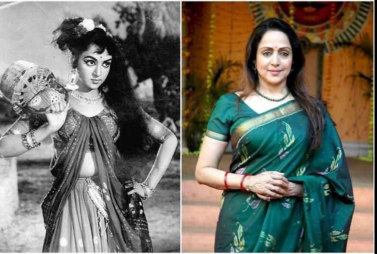 49 साल में कितनी बदल गईं हेमा मालिनी, तस्वीरों में देखिए 'ड्रीम गर्ल' से  भाजपा सांसद तक का सफर - Entertainment News: Amar Ujala