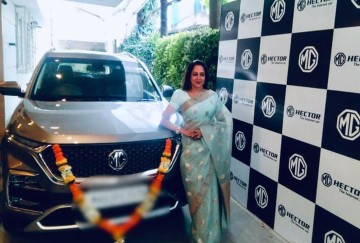 Hema Malini bought MG Hector