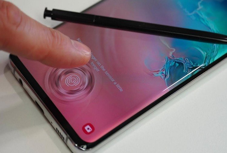 samsung galaxy note 10 fingerprint