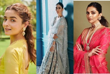Diwali trendy hair style of bollywood 2019 in hindi