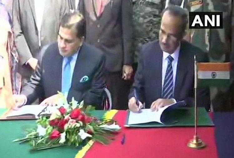 करतापुर कॉरिडोर के संचालन के लिए भारत और पाकिस्तान के बीच समझौते पर हुआ हस्ताक्षर