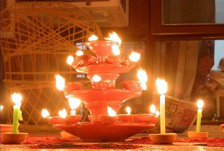 Diwali 2020 Date 14 Noember Deepotsav Will Be Four Days Diwali Puja Vidhi Diwali 2020 Date ज न ए कब श र ह रह ह द व ल क उत सव ग रह नक षत र क स य ग स बन रह