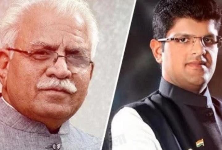 CM-Manohar-Lal-Deputy-CM-Dushyant-Chautala