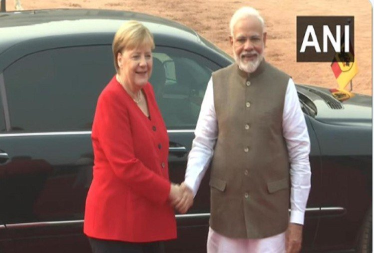 Live update German Chancellor Angela Merkel india visit to meet Prime Minister Narendra Modi