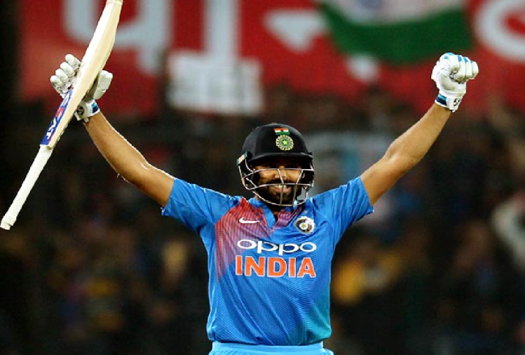 Indvban: Rohit Sharma Become First Indian Male Cricketer To Play ...