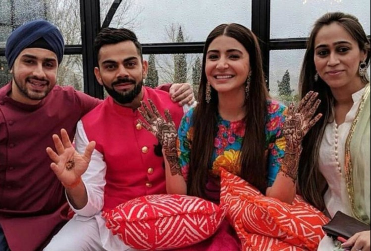 Virat Anushka wedding album