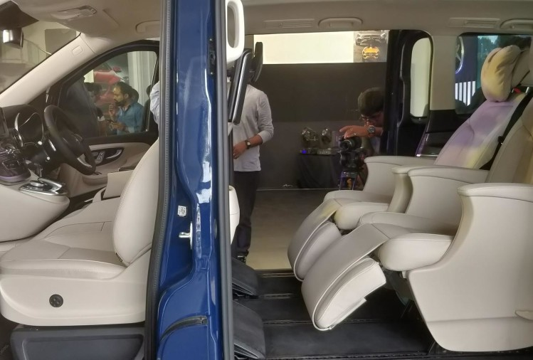 Mercedes Benz V Class Elite Interior