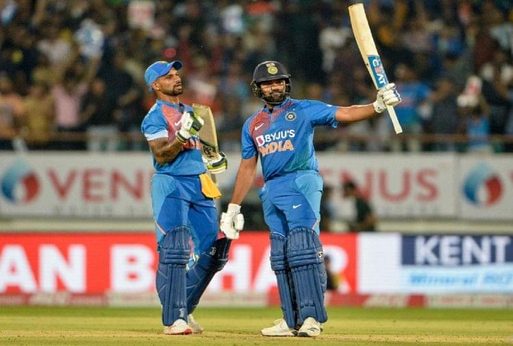 रोहित शर्मा ने खेली 85 रनों की ताबड़तोड़ पारी