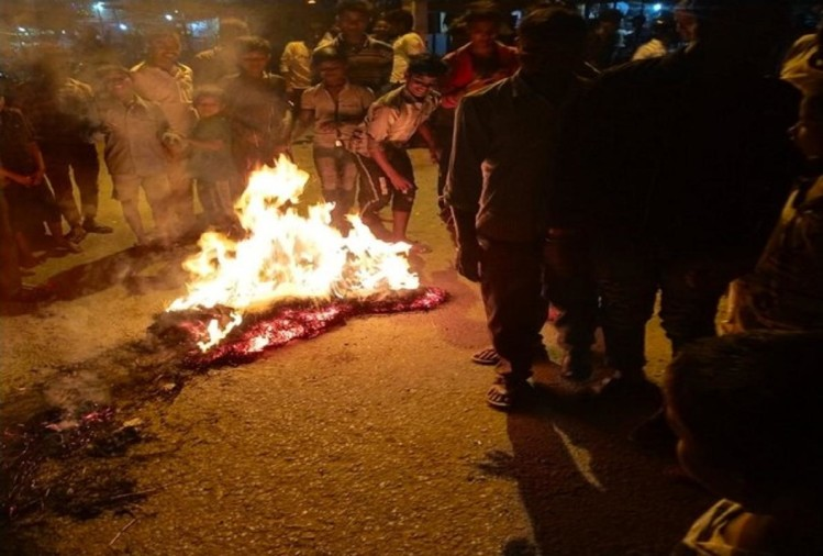 Image result for  Massive protest against China in Nepal, burning effigies of Jinping