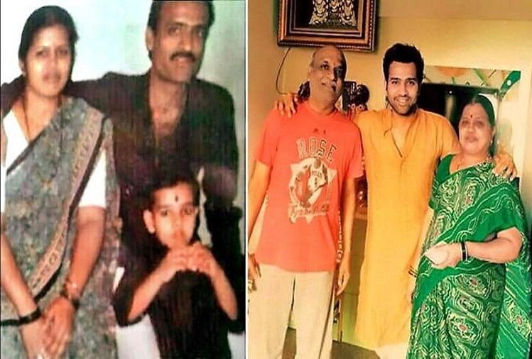 रोहित शर्मा का बचपन