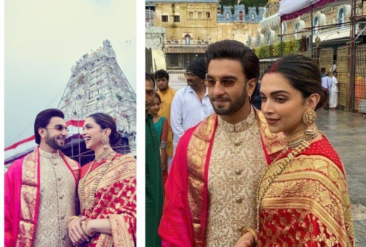 deepika padukone ranveer singh look one year wedding anniversary