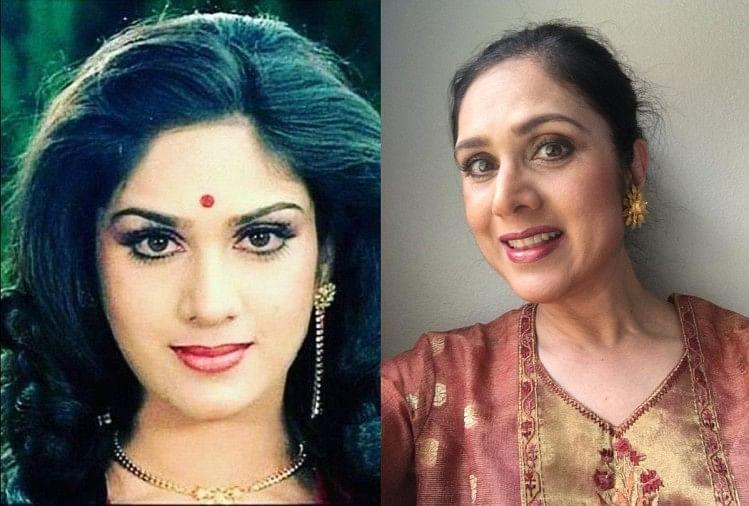 Meenakshi Seshadri Birthday Special Huge Transformation In Look Far From  Limelight - गुमनामी की जिंदगी जी रहीं जैकी श्रॉफ की ये हीरोइन, बदल गईं इतनी  तस्वीरों में पहचानना भी ...