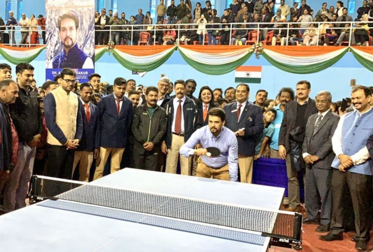 Anurag thakur High altitude sports training center will be built in Dharamshala