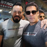 Salman With Shera