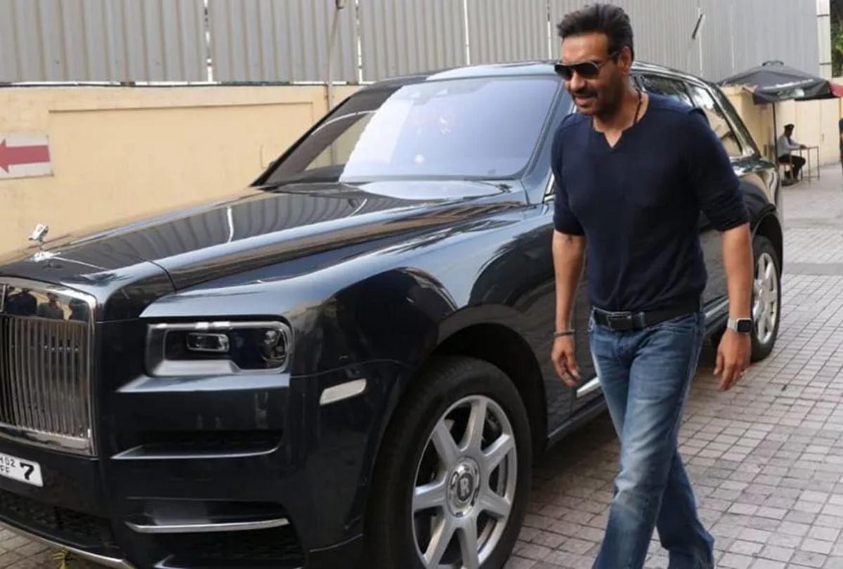 Ajay Devgn Arrives For Tanhaji Preview In Rolls-royce Cullinan Suv Priced  6.95 Crore See Photos - 'तानाजी' स्टार अजय देवगन की 6.95 Cr. की 'रॉयल' कार  देखी, दिल छू लेंगी तस्वीरें -