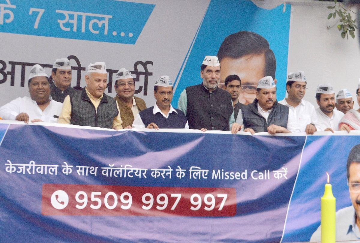 केजरीवाल ने कहा भाजपा पे कहा तंग- देश में हिंदू-मुसलमान और दिल्ली में कच्ची कॉलोनियां