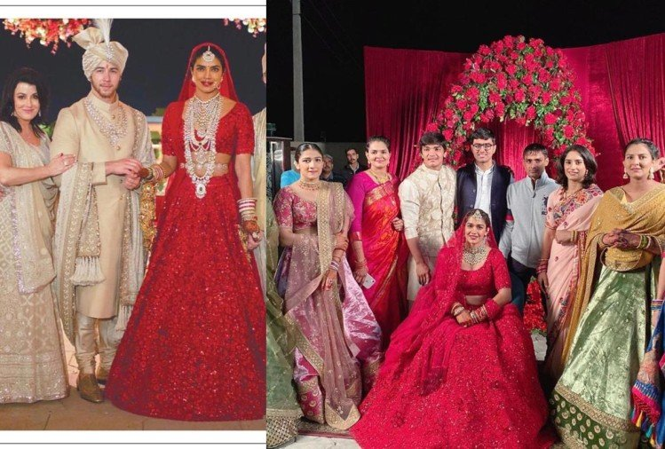 wrestler babita phogat married to vivek suhag wedding looks