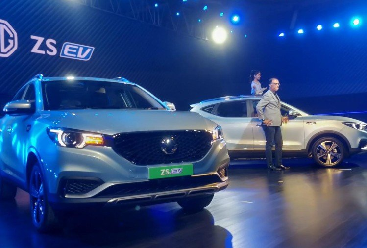 MG ZS EV India Launch