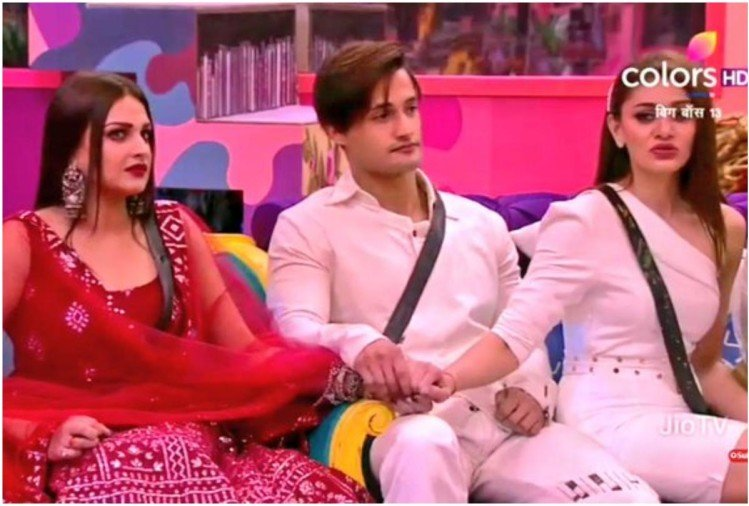 Himanshi, Asim and Shefali