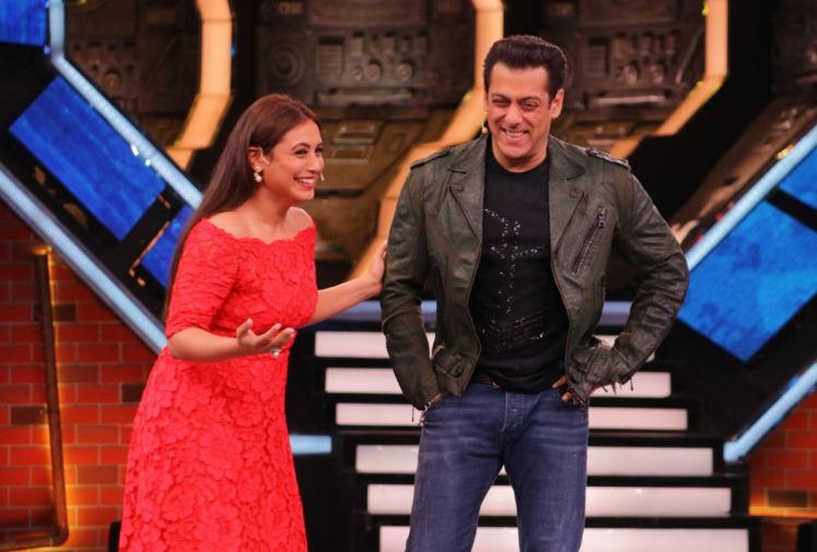 Salman Khan and Rani Mukerji