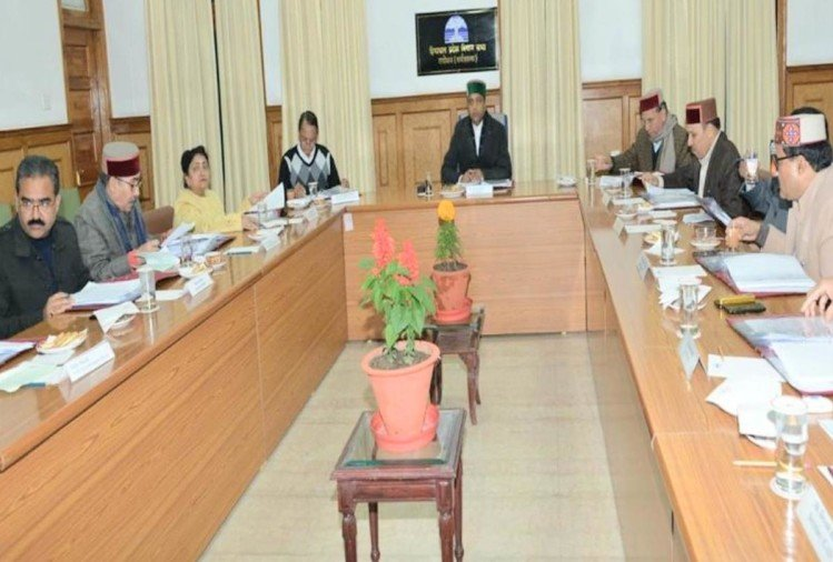 himachal cabinet meeting will held on 16 january at shimla