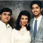 Jagjit Singh with family