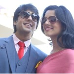 Gaurav Bajaj with wife