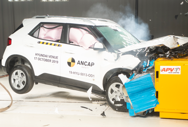 Hyundai Venue A-NCAP Crash Test