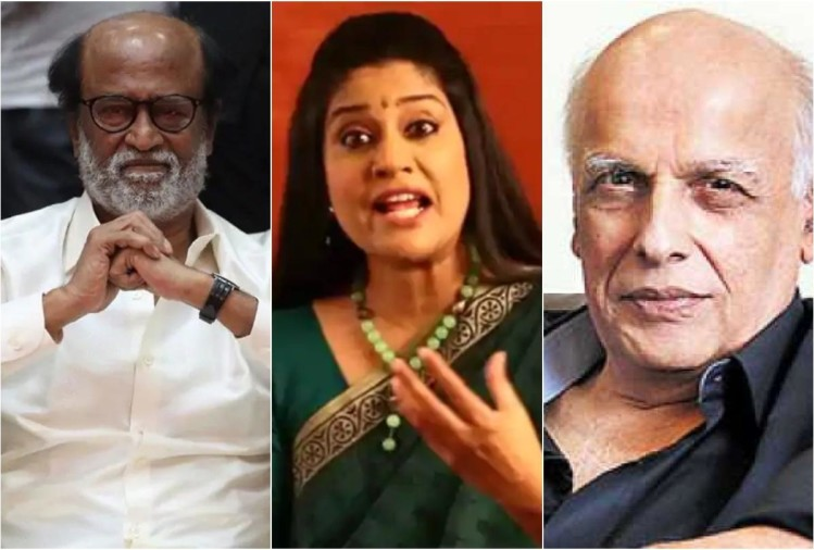 Rajinikanth, Renuka and Mahesh Bhatt