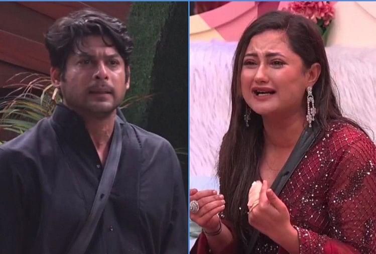 Bigg Boss 13 Sidharth Shukla And Rashmi Desai Ugly Fight