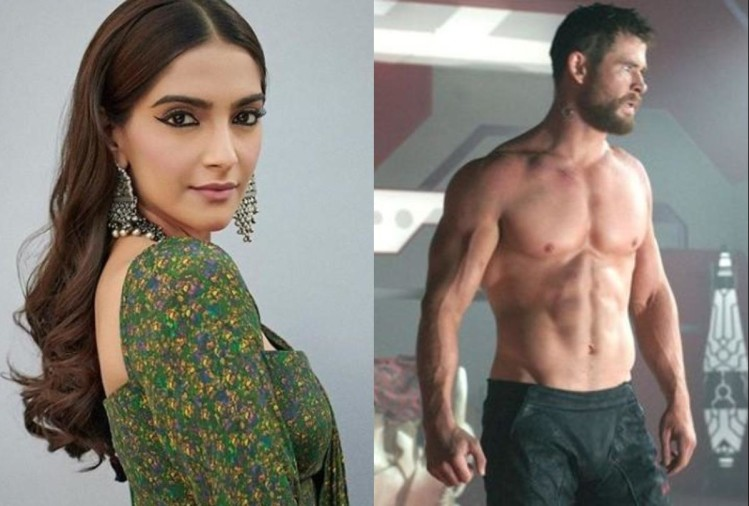 Sonam Kapoor, Chris Hemsworth