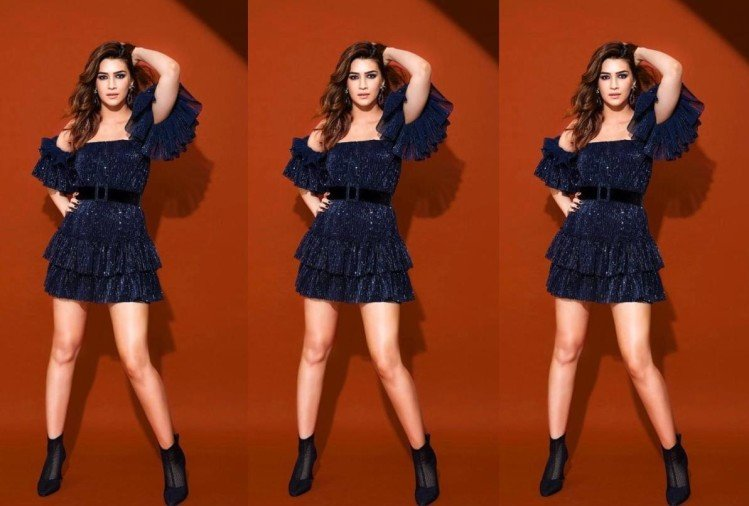 kriti sanon is ready in perfect new year party look 2020