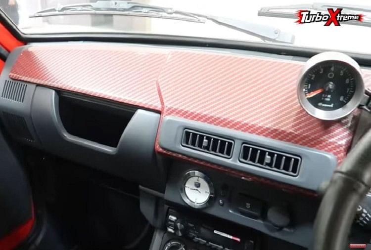 Maruti 800 Dashboard