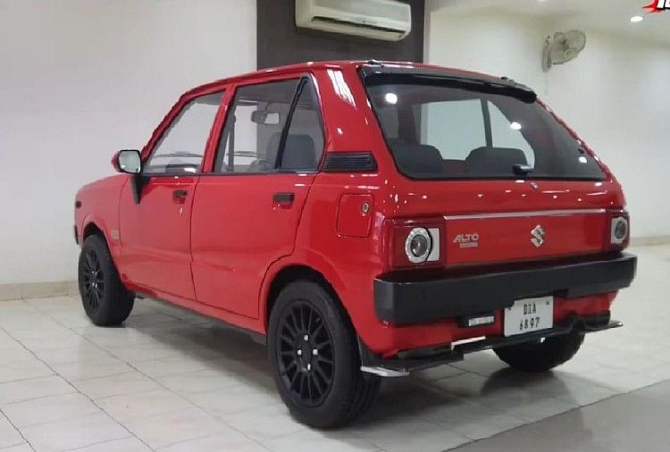 Maruti 800 Rear Restoration