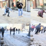The roads of Shimla became killer, on more death due to slipping on snow, dozens injured