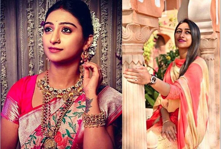 Actress Mohena Kumari Royal Life After Wedding With Suyesh Rawat - शादी के  बाद ससुराल में रानियों की तरह राज कर रहीं अभिनेत्री मोहिना कुमारी, ये  तस्वीरें हैं सबूत - Amar Ujala
