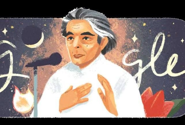 Kaifi Azmi Birthday Google pays tribute with a doodle