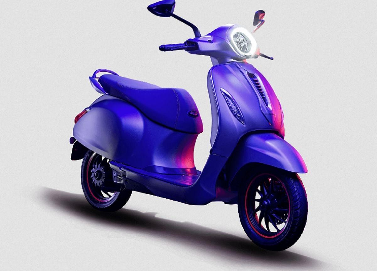 Bajaj Chetak Electric scooter Booking