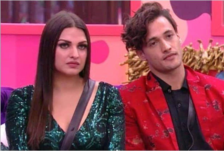 Himanshi Khurana and Asim Riaz
