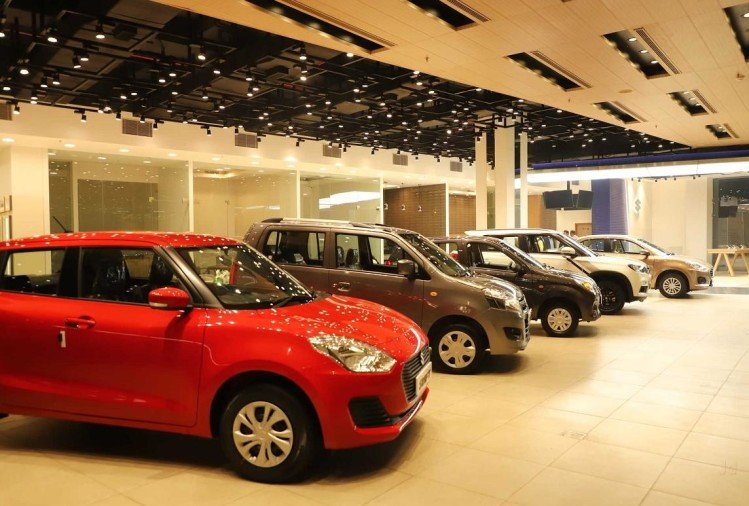 Maruti car Showroom