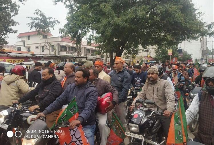 रैली के दौरान बाहर से आने वाले भाजपा कार्यकर्ताओं की भीड़ को देखते हुए यातायात व्यवस्था सुचारु ढंग से बनाए रखने और आमजन की सुविधा के लिए यातायात विभाग ने रूट डायवर्जन जारी किया है
