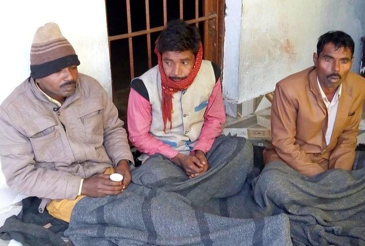 महुली थाना क्षेत्र के हरिहरपुर में अजीबो गरीब मामला देखने को मिला।