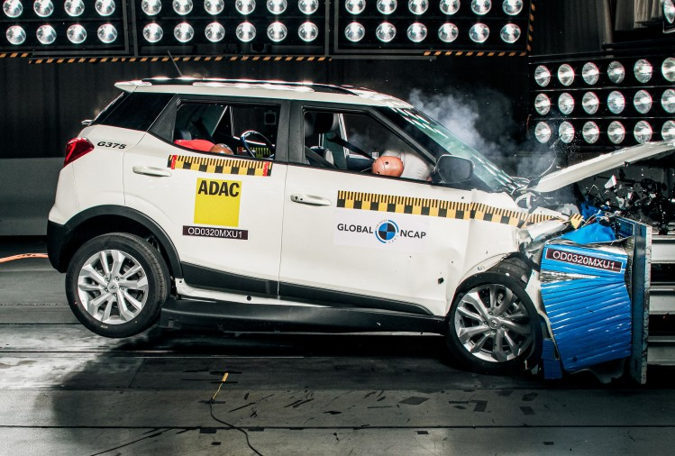 Mahindra XUV300 Global NCAP Crash test