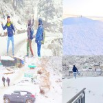 Photos: Tourists reach Nuddy-McLeodganj to have fun in snow, paragliding banned in Billing