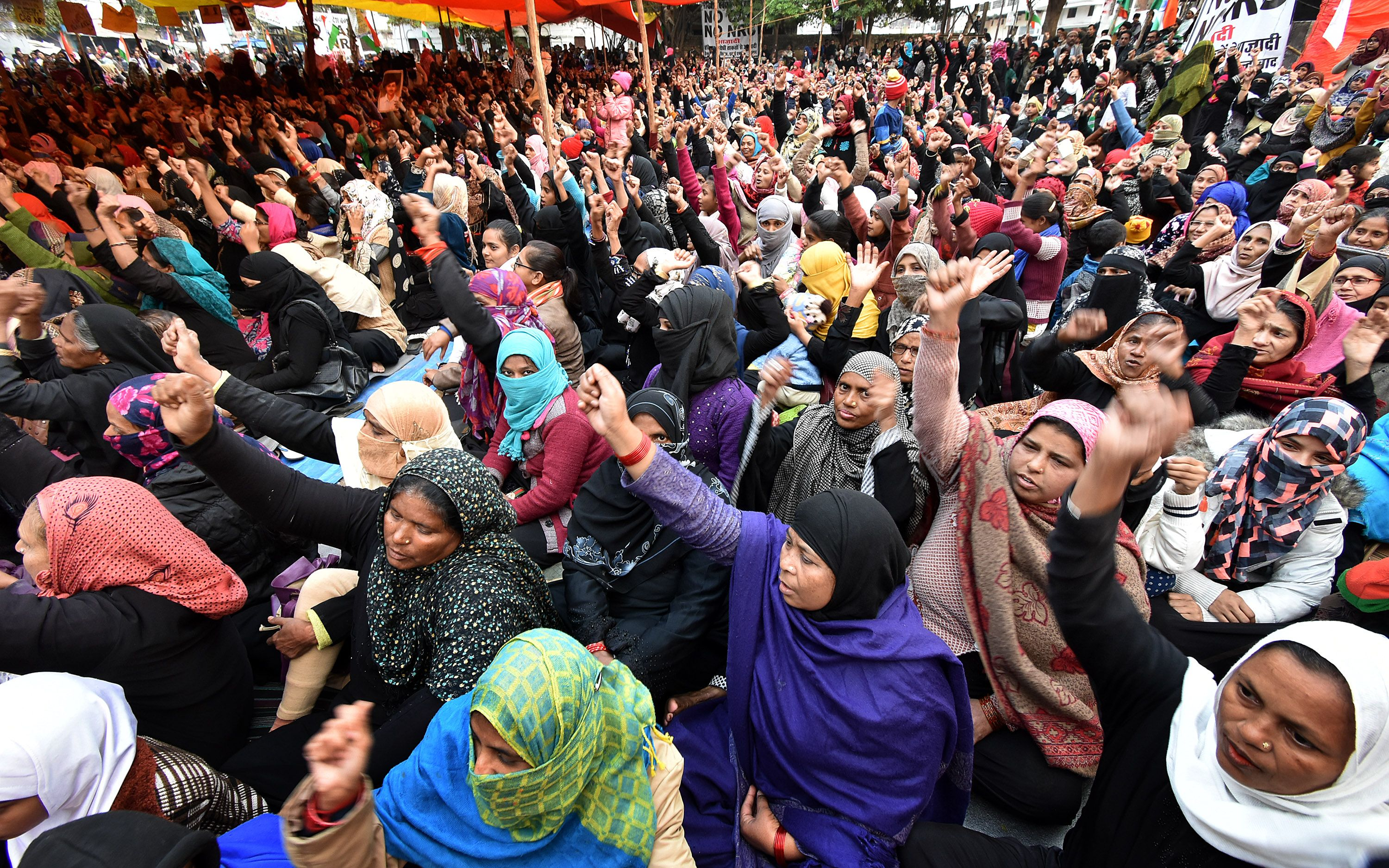 Women did not accept to go out of the strike, returned SP