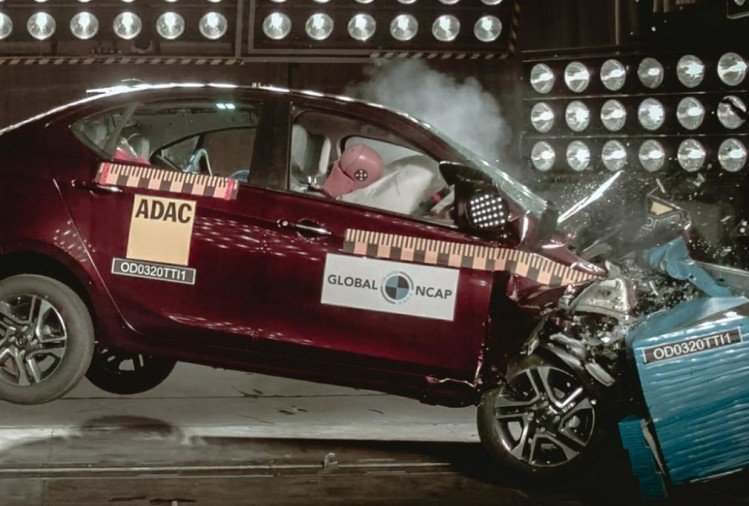 Tata Tigor Crash Test Rating
