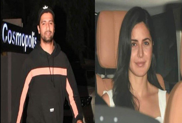 Vicky Kaushal and Katrina Kaif