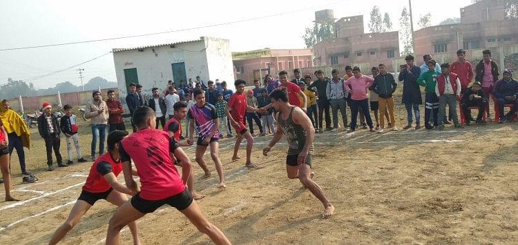 ग्रामीण खेल महोत्सव का शुभारंभ