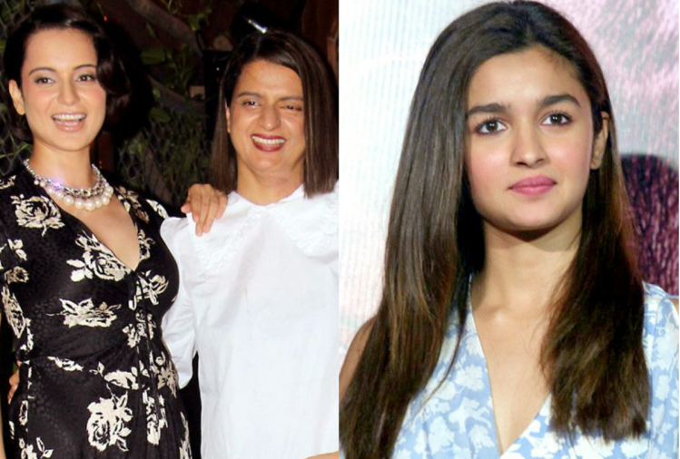 Kangana Ranaut and Alia Bhatt